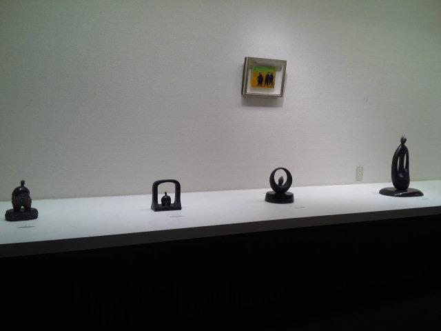 尾崎慎石彫展 行って来ました