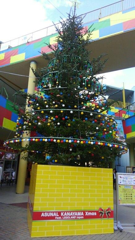 レゴ(ブロック)で出来たクリスマスモニュメント