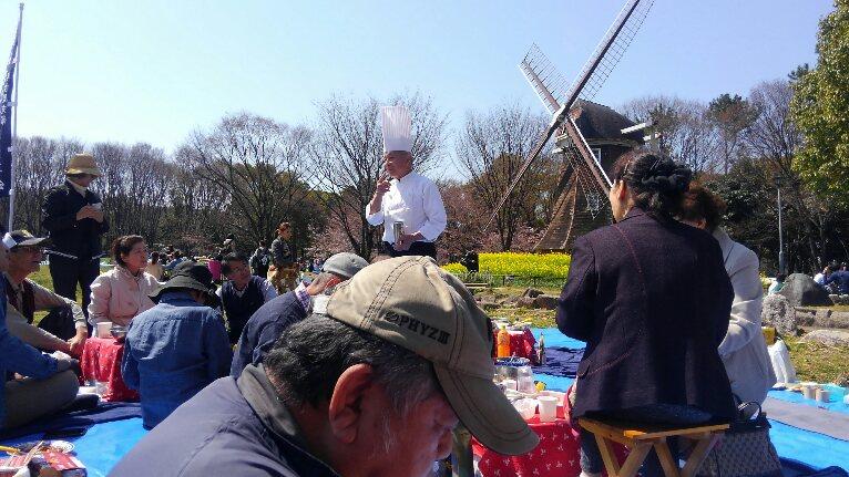 名城公園の花見の続き